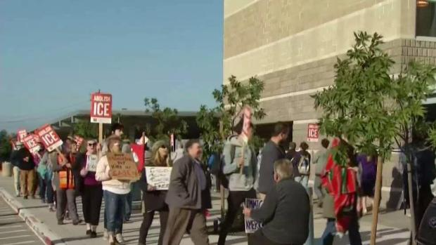 [BAY] Dozens Protest at East Bay Detention Facility