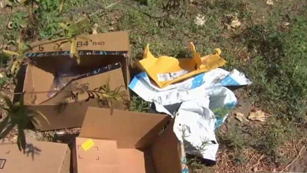 [BAY] Dozens of Emptied Amazon Packages Found Near San Jose River