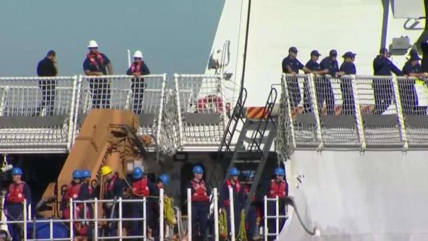 [BAY] Drug-Busting Coast Guard Cutter Returns Home to Alameda