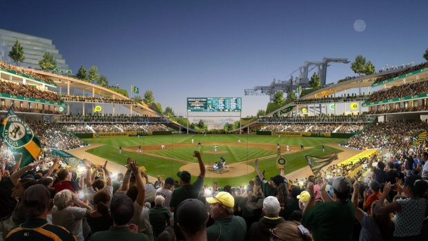 [BAY] A's Plan Howard Terminal Stadium, Coliseum Redevelopment
