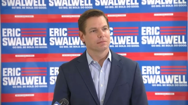 [BAY] Swalwell Says He's Dropping Out of Presidential Race