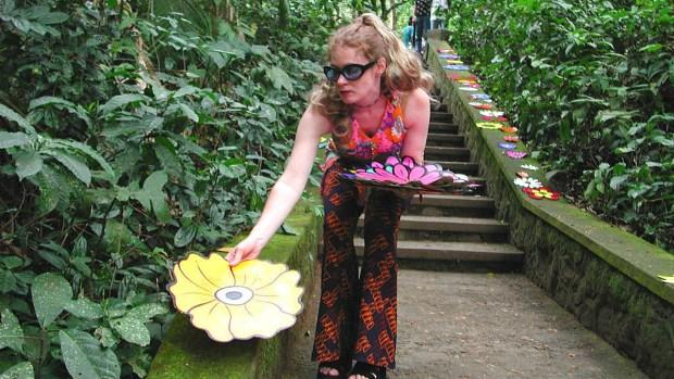 Flower Interruption Artist Unveils 'Summer of Rage' Exhibit