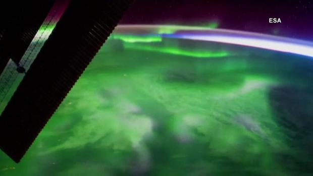 [NATL] The Aurora Borealis as Seen From Space