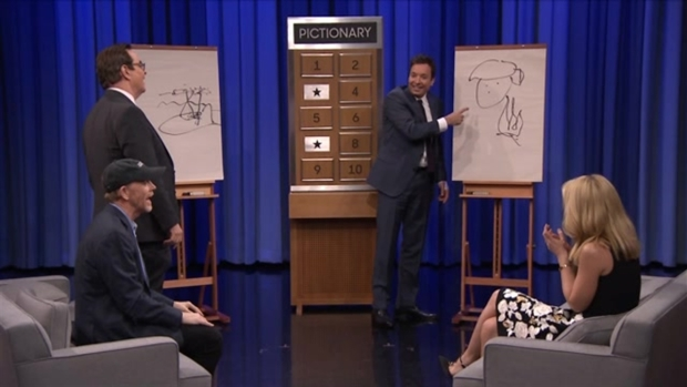 [NATL] Jimmy Fallon, Claire Danes Play Pictionary 'The Tonight Show'