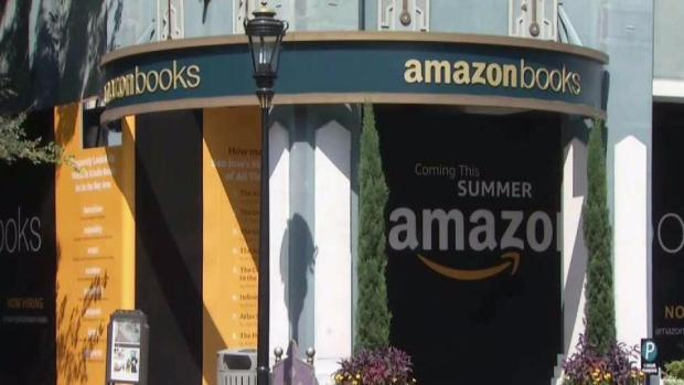 [BAY ML 6A VO ONLY] First Bay Area Amazon Bookstore Opens in Santana Row