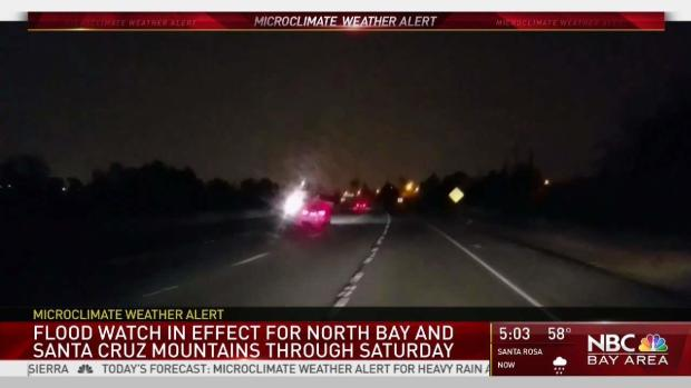 [BAY] Flood Watch in Effect in North Bay and Santa Cruz Mountains