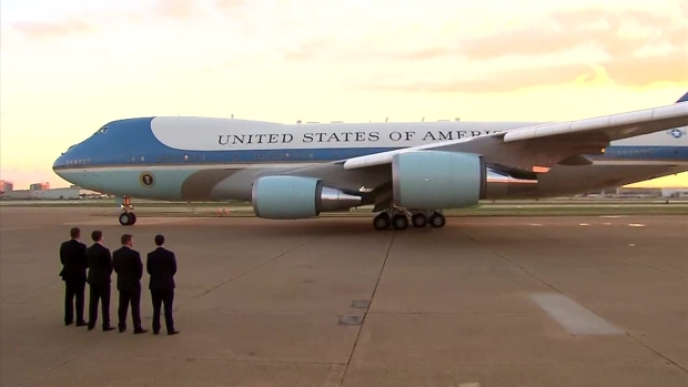 [DFW] President Obama Leaves DFW on Air Force One