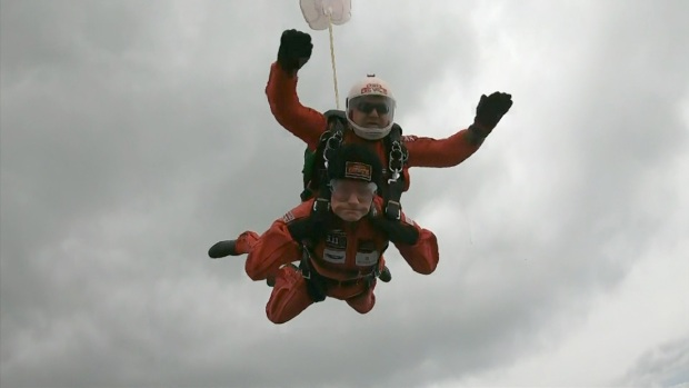[NATL] D-Day Veterans Recreate Parachute Jumps Over Normandy