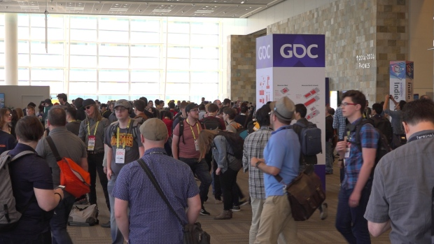 Day 1 of the Game Developers' Conference