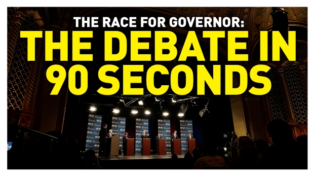 The California Governor Debate in 90 Seconds