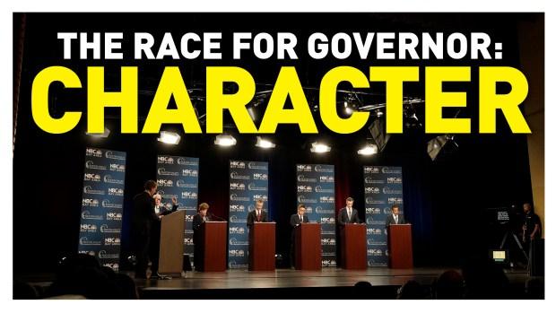 California Gubernatorial Debate: Character