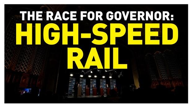 California Gubernatorial Debate: High-Speed Rail