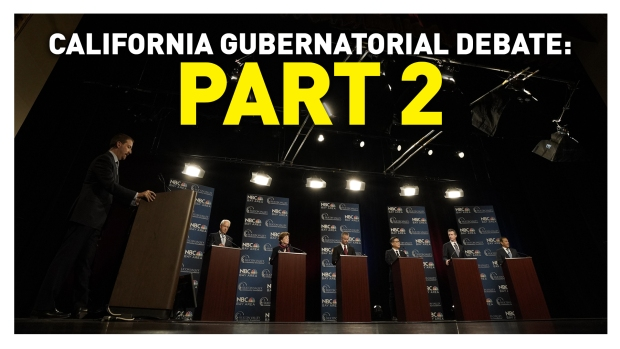 California Gubernatorial Debate: Statewide Issues