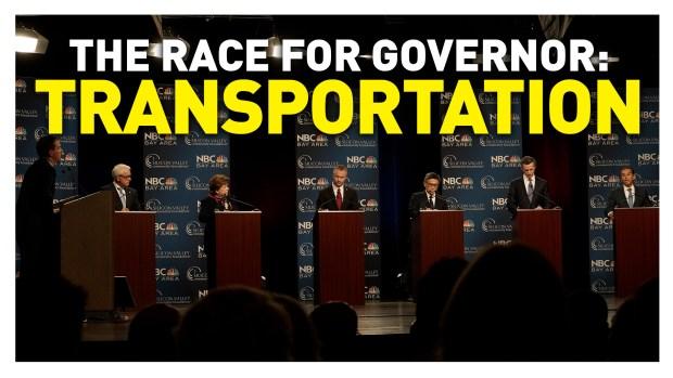 California Gubernatorial Debate: Transportation