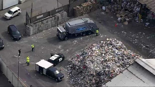 [BAY] 'Unknown Item' in Garbage Truck Explodes, Injuring Operator