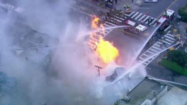 Gas Explosion Triggers Fire in San Francisco: FD