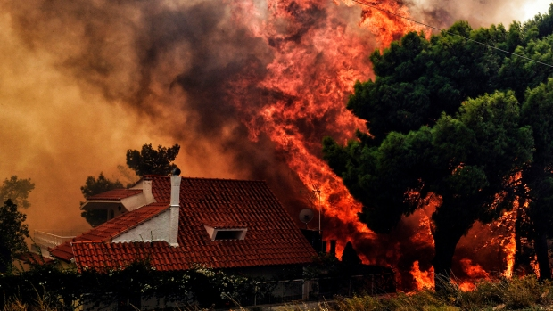 [NATL] Hundreds Evacuated to Sea as Deadly Wildfires Burn in Greece