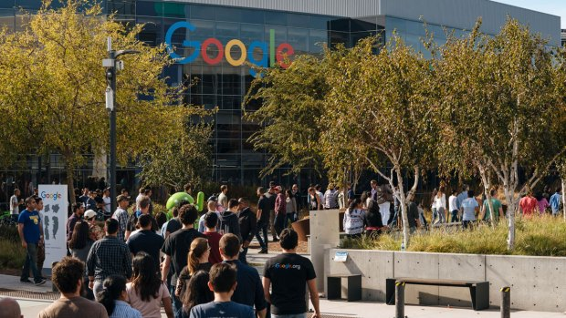 [BAY] Google Employees Walk Out to Protest Treatment of Women