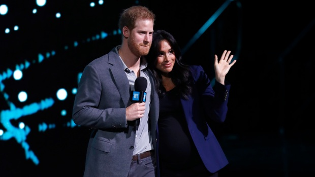Royal Family Photos: Meghan, Harry Cuddle on Stage for WE UK