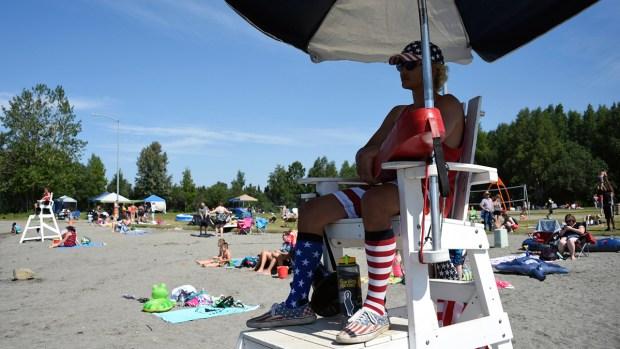 [NATL] Extreme Weather Photos: Anchorage, Alaska Cities Break Heat Records