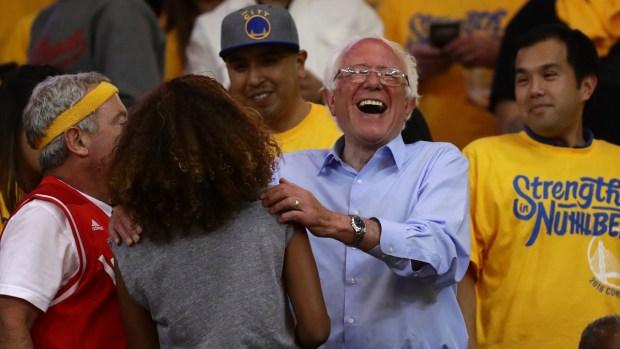 Bernie Sanders Whirlwind Memorial Day