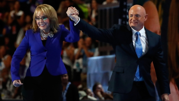 DNC: Watch the Moment Where Gabby Giffords Walks Onstage