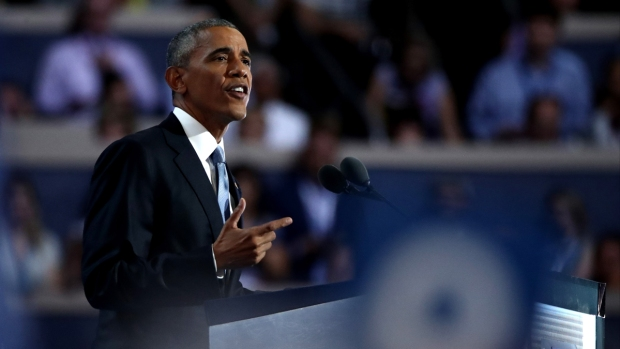 [NATL] 'She Never, Ever Quits,' President Obama Says of Hillary Clinton