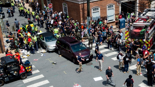 [NATL] Dramatic Photos: Violent Clashes at White Nationalist Rally in Virginia