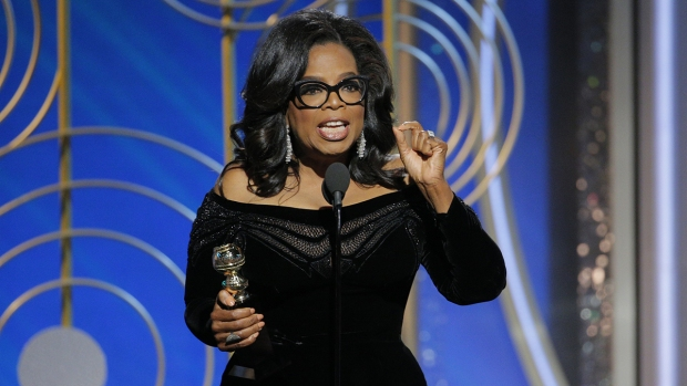 President Trump says he doesn't think Oprah Winfrey will run