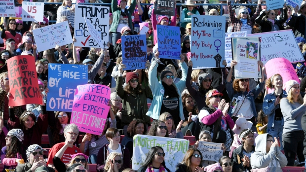 [BAY] Millions to Participation in Annual Women's March