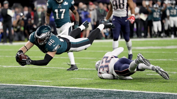 [NATL]In Photos: Philadelphia Eagles Beat New England Patriots to Win Their 1st Super Bowl