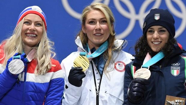 Feb. 15 Olympics Photos: Shiffrin Wins Gold