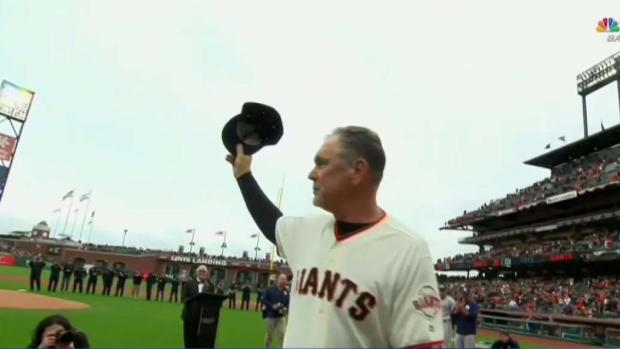 [BAY] Giant's Manager Bruce Bochy Presented With Key to the City
