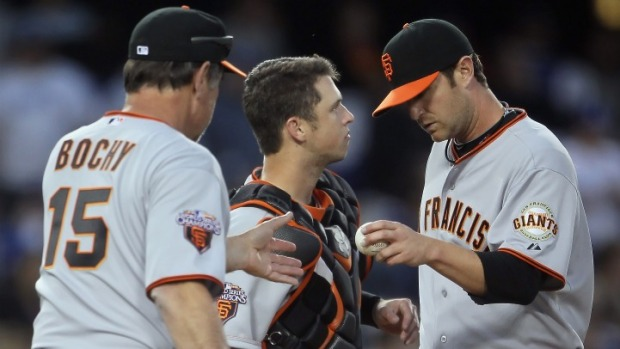 Giants Lose Series Finale
