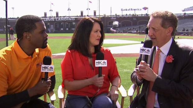 Giants President and CEO Larry Baer Chats With NBC Bay Area