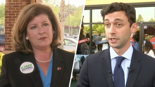 [NATL] Candidates Fight Over GOP Leaning Georgia District in House Race