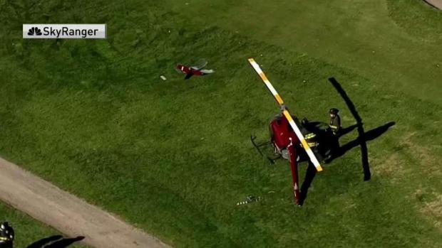 [BAY] Helicopter Makes Emergency Landing on Hayward Golf Course