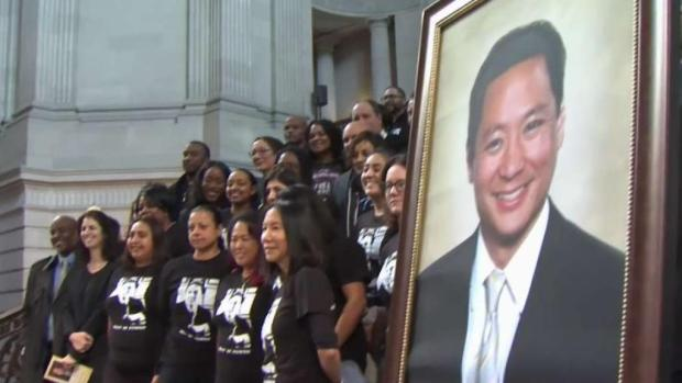 [BAY] Hundreds Pack SF City Hall For Jeff Adachi Memorial Service