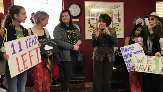 Congresswoman Eshoo Encourages Palo Alto Students to Advocate on Climate Change