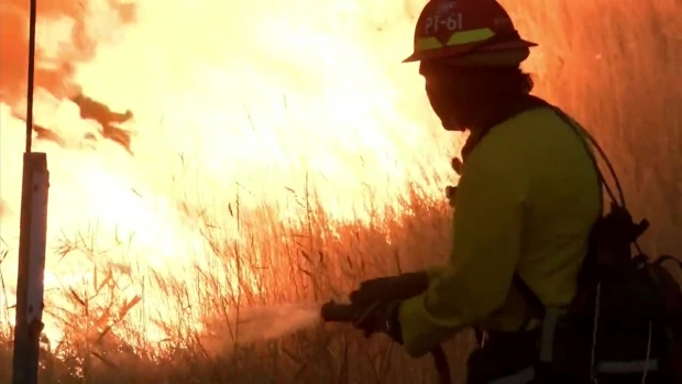 [BAY] Delta Fire Triples in Size Overnight; I-5 Remains Close