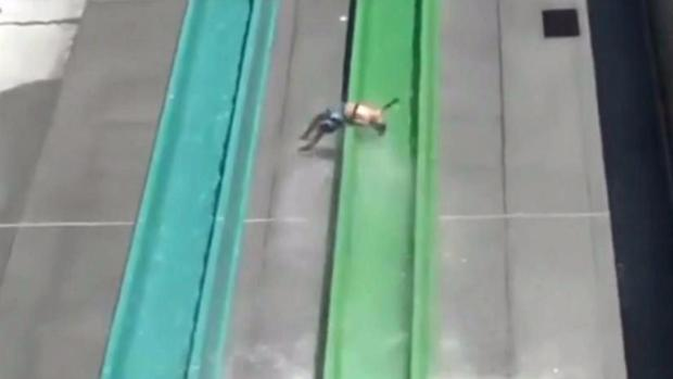 RAW: Boy Thrown From Water Slide at Dublin Park