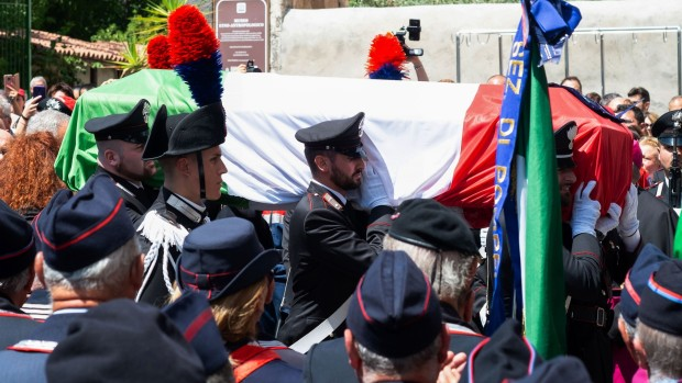[BAY] Italy Police Officer, Allegedly Slain by Bay Area Teens, Mourned
