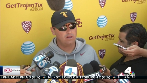 [LA] USC Investigating Football Player's Heroic Story