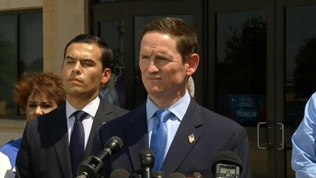 [DFW] Raw Video: Jenkins Reveals Preliminary Plan to House Migrant Children