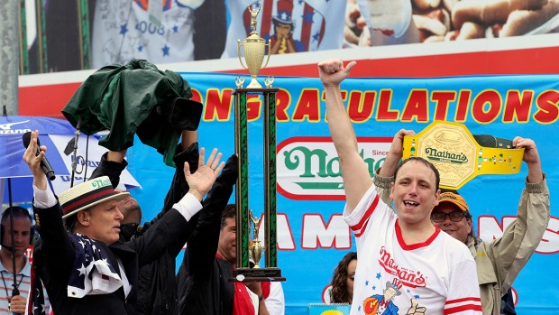 [NATL] 2014 Nathan's Famous Hot Dog Eating Contest in Photos