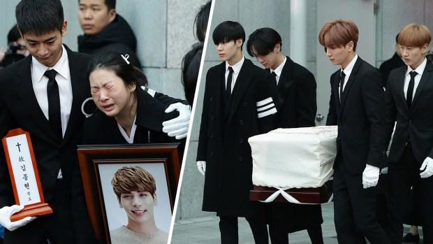 [NATL]Fans, Friends and Family Bid an Emotional Goodbye to SHINee's Jonghyun