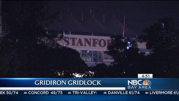 [BAY] Peninsula Braces for Gridiron Gridlock ahead of Stanford-Oregon Game