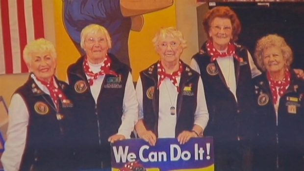 [BAY] Bay Area Rosie the Riveter Wants Trip to White House