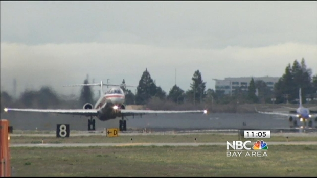 [BAY] Airplane Makes Emergency Landing at San Jose Airport After Hitting Bird