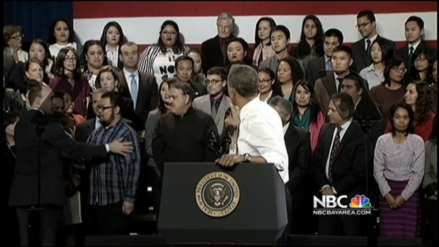 [BAY] Obama's SF Visit Includes Run-In With Heckler